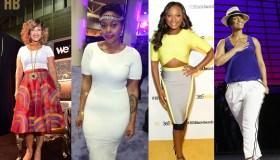 Collage Of Erica Campbell, Chrisette Michele, Naturi Naughton, Alicia Keys