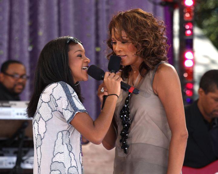 Bobbi Kristina & Whitney Houston