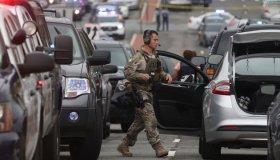 Police Respond To Reports Of Shooting At Washington Navy Yard