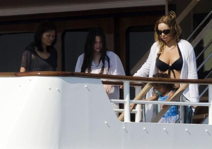 Celebrities Sighting In Ibiza - June 30, 2015