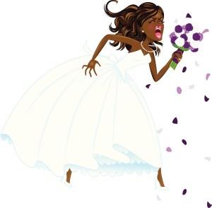 African American Bridezilla