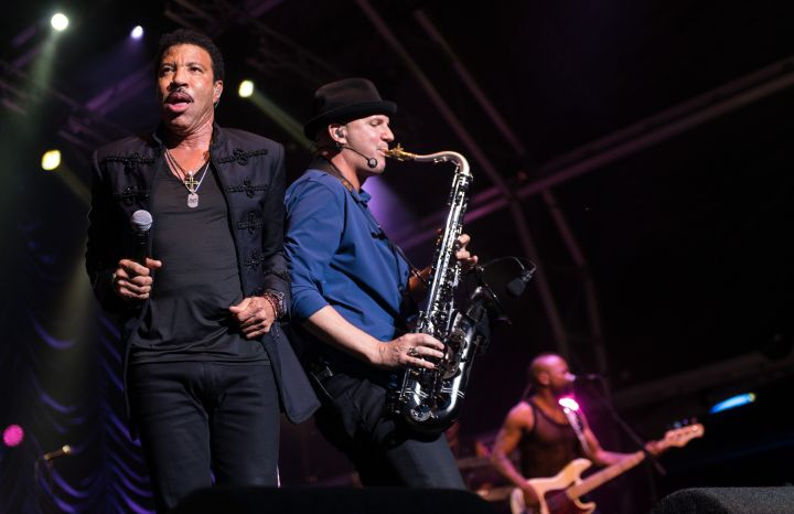 Lionel Richie Hit The Stage At The Henley Festival