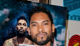 Miguel CD Signing For 'Wildheart' At Amoeba Hollywood