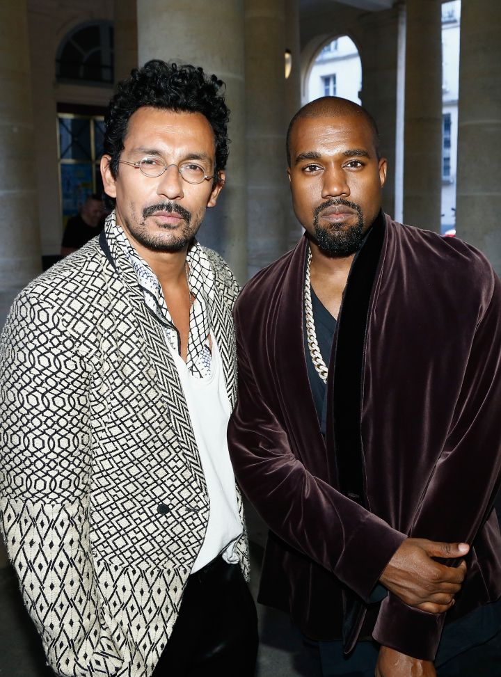 Kanye West & Haider Ackermann