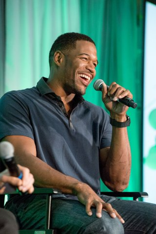 Michael Strahan Speaks At LEAP Foundation Event At UCLA