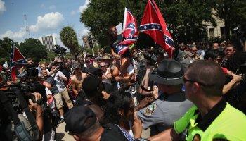 Ku Klux Klan Rally