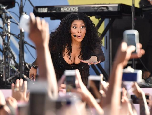 Nicki Minaj Performs On ABC's 'Good Morning America'