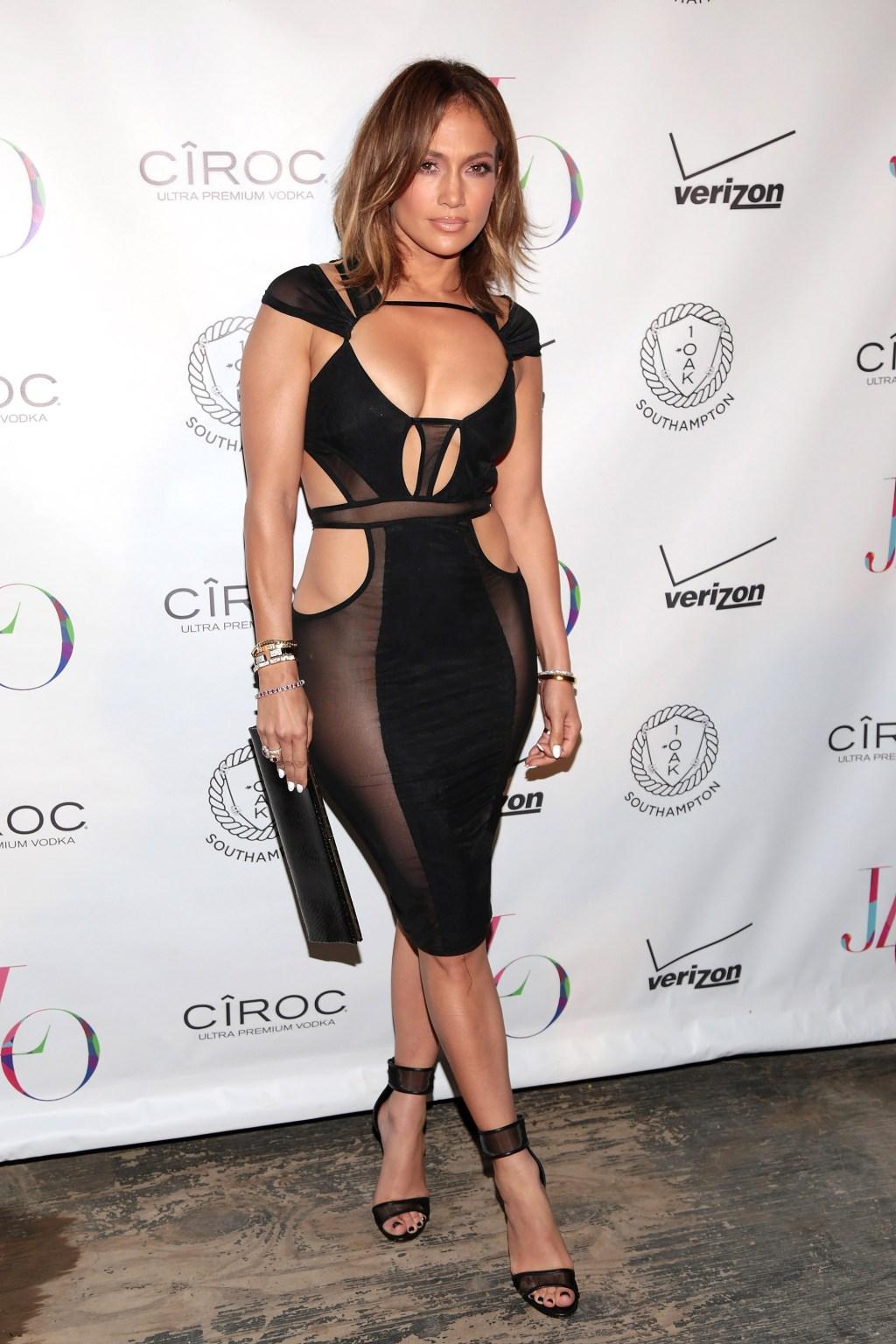 Jennifer Lopez's Birthday Celebration