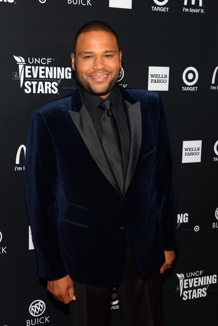 """Anthony Anderson, """"Black-ish"""" Lead Actor, Comedy Series"""
