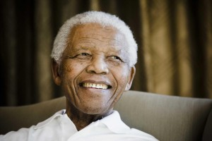 A group of American and South African students, aged from 11 to 19, met with Nelson Mandela at the Nelson Mandela Foundation in Johannesburg, on 2 June 2009. This is part of a series of activities ahead of Mandela Day on 18 July.