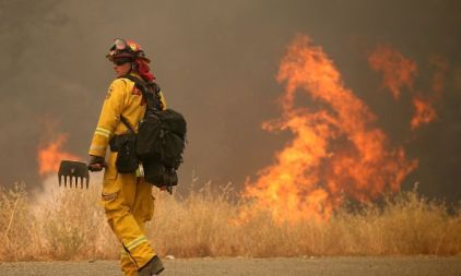 Rocky Fire Grows To 23,000 Acres In Drought-Ridden Northern California