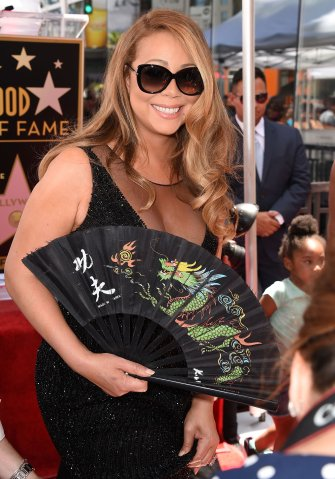 Mariah Carey Honored With Star On The Hollywood Walk Of Fame