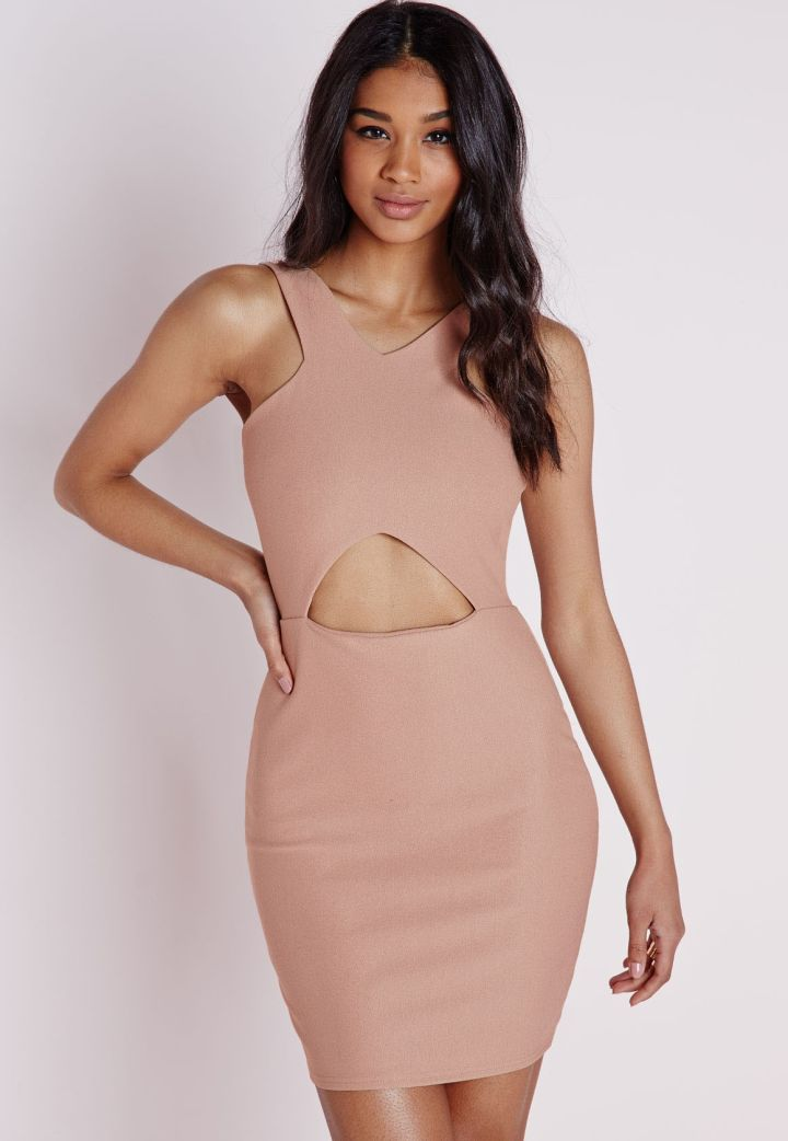 Criss Cross Cutout Dress