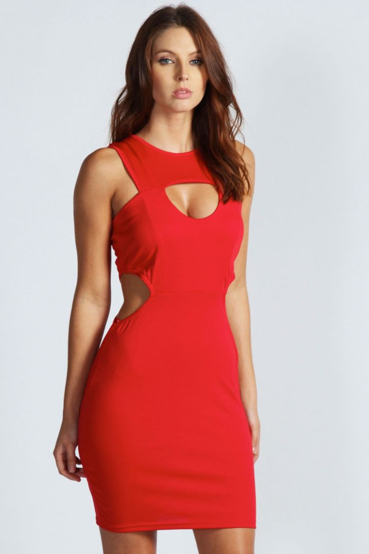 Side Cutout Dress