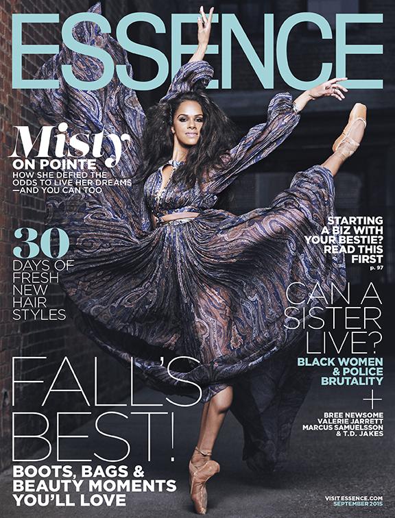 Misty Copeland Essence Cover