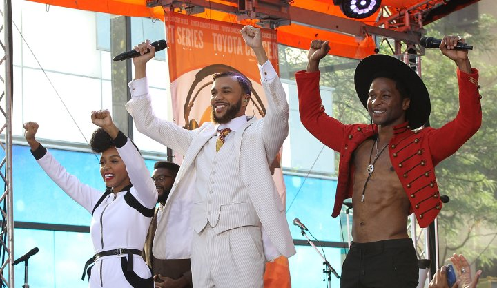 Janelle Monae Performs On NBC's 'Today'
