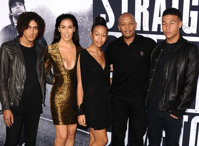 Premiere Of Universal Pictures And Legendary Pictures' 'Straight Outta Compton' - Arrivals
