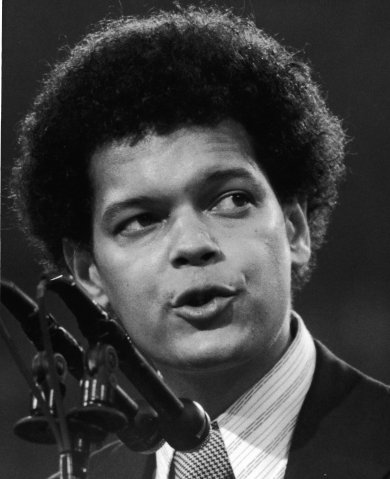 Julian Bond At Democratic Convention