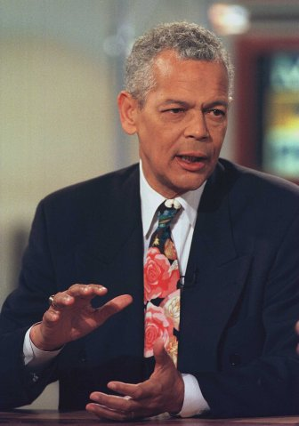 Long-time civil rights activist Julian Bond