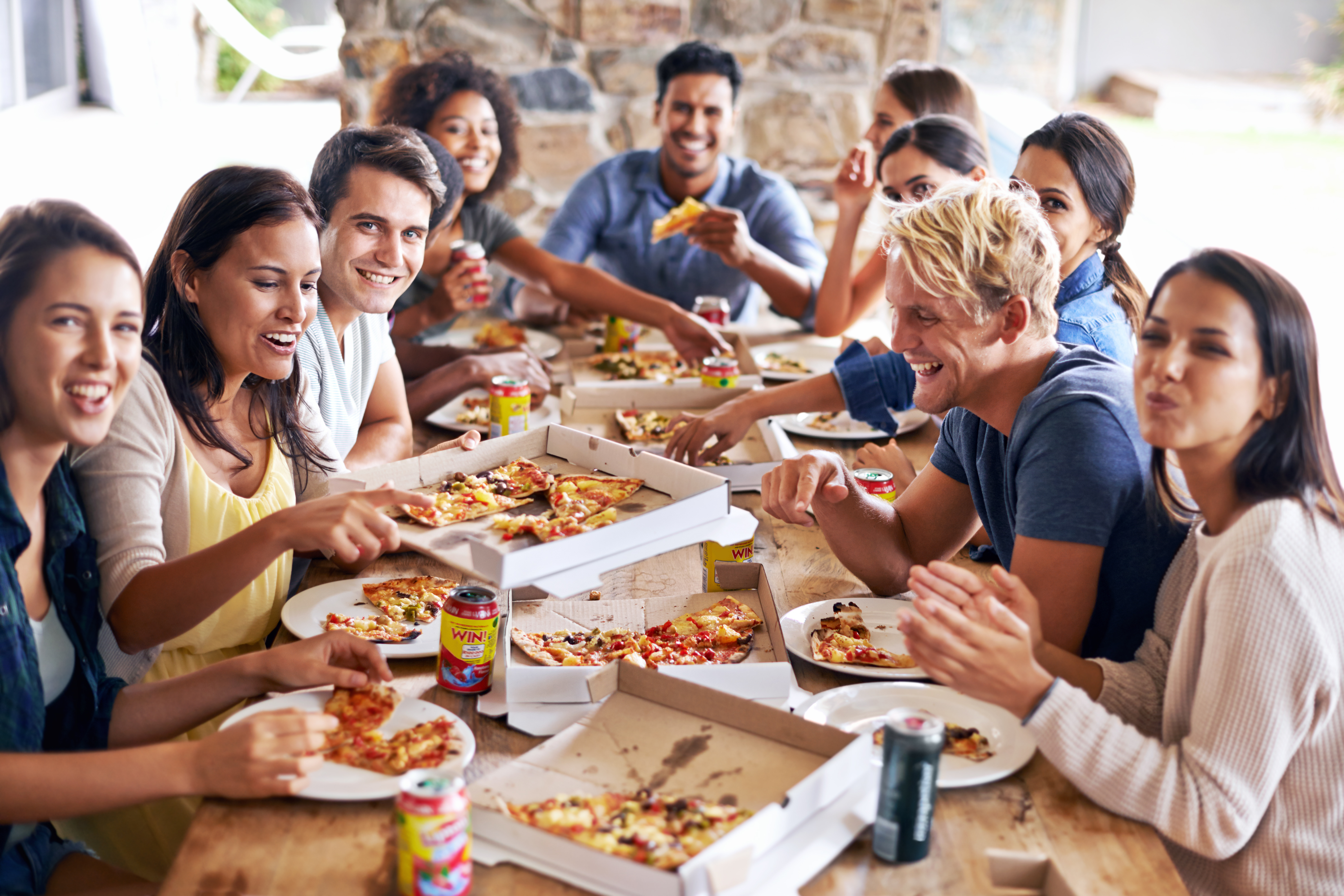 It's time for a pizza party!