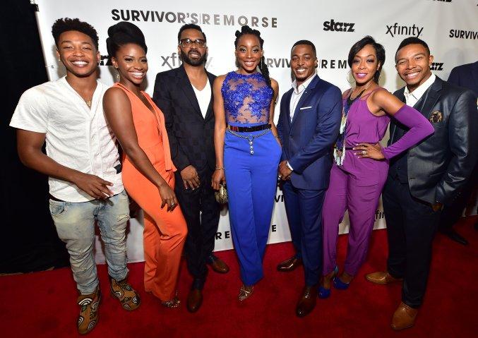 Red Carpet Event For Stars Network 'Survivor's Remorse'