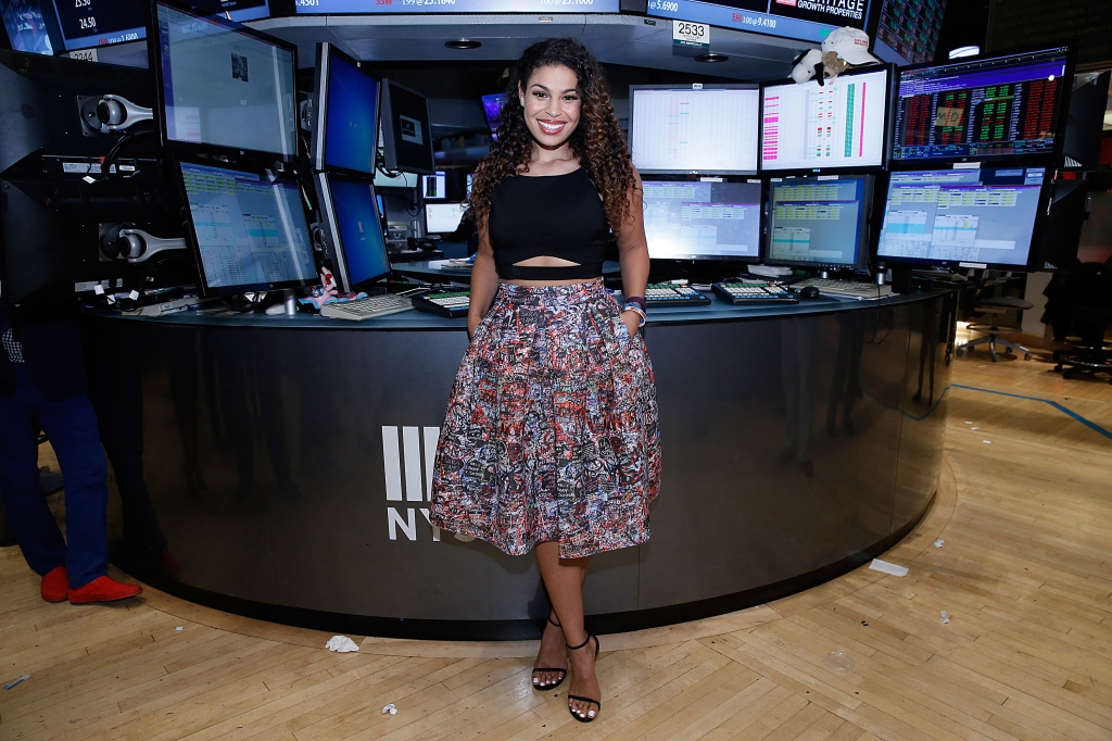 Jordin Sparks Rings The NYSE Closing Bell To Celebrate The Release Of Her Third Album 'Right Here, Right Now'