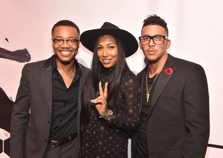 Julian Walker, Melanie Fiona & Antonio Brown