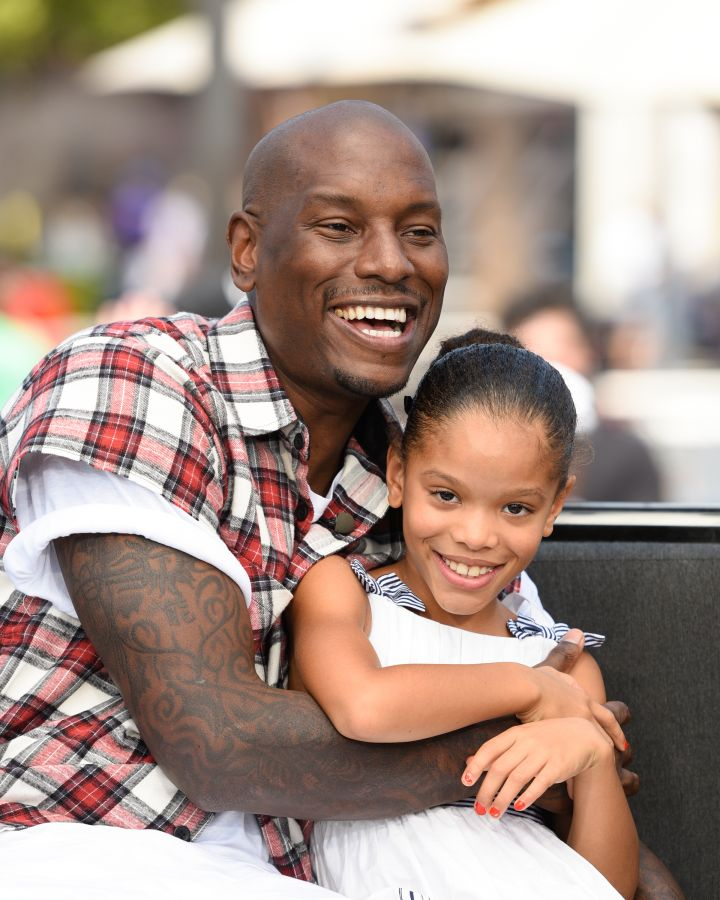 Tyrese Gibson & daughter Shayla Somer Gibson