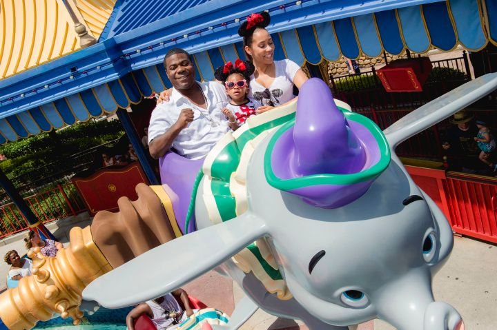 Actor-Comedian Tracy Morgan and family visit Walt Disney World