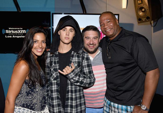 Justin Bieber Visits SiriusXM Hits 1's The Morning Mash Up