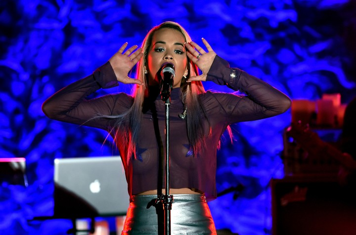 Rita Ora Performs At The El Rey
