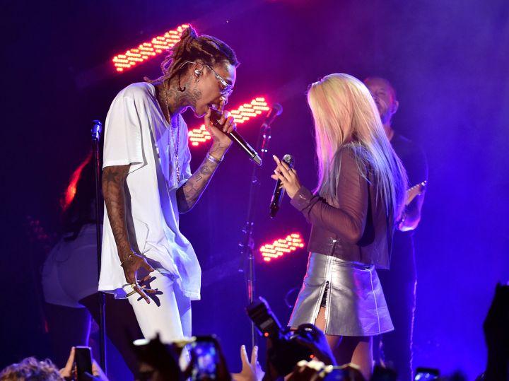 Wiz Khalifa & Rita Ora