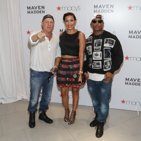 Ja Rule & Steve Madden Release Maven x Madden Men's Collection At Macy's Herald Square