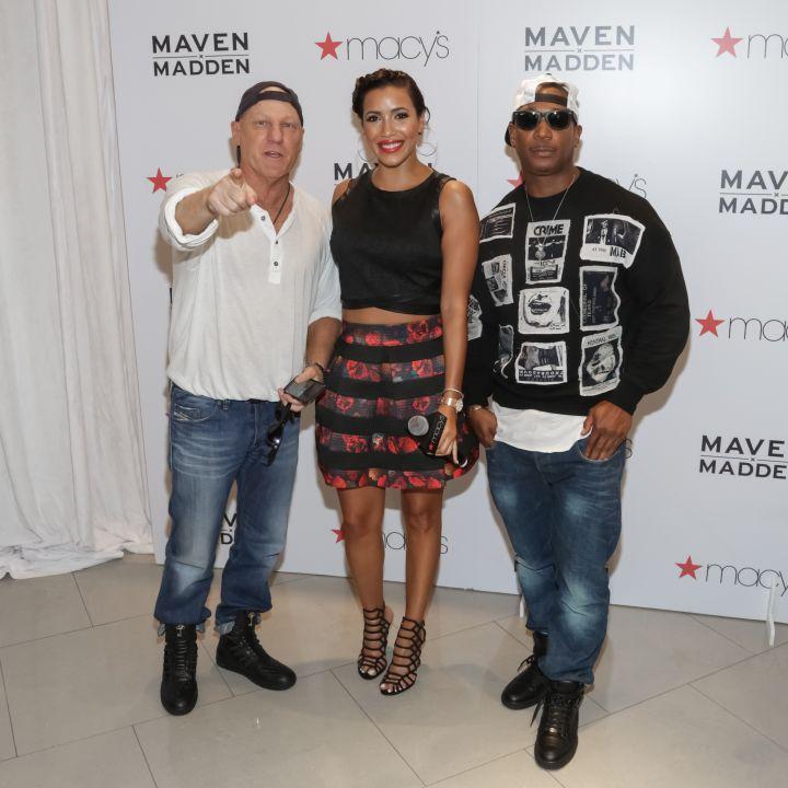 Steve Madden, Julissa Bermudez & Ja Rule