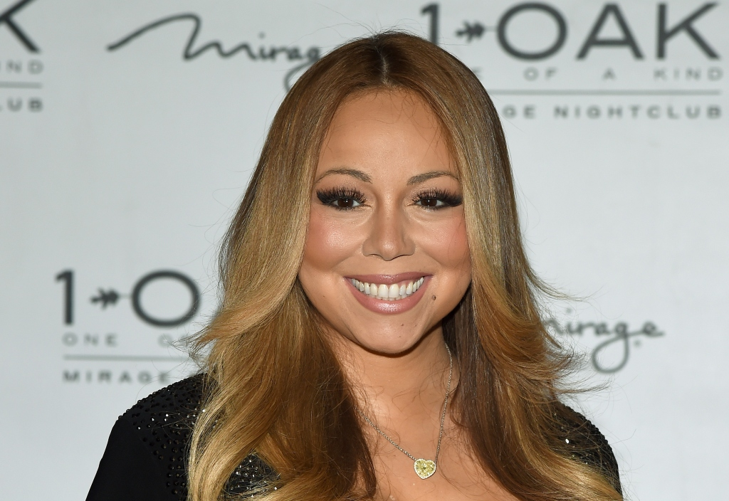 Mariah Carey At 1 OAK Nightclub At The Mirage