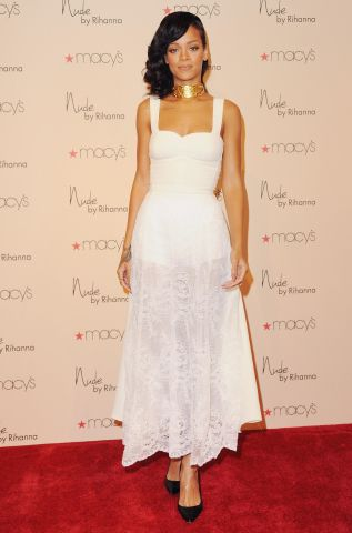Rihanna Launches 'Nude by Rihanna'