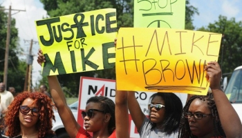 Protests Continue In Missouri Town After Police Shooting Of 18-Yr-Old Man