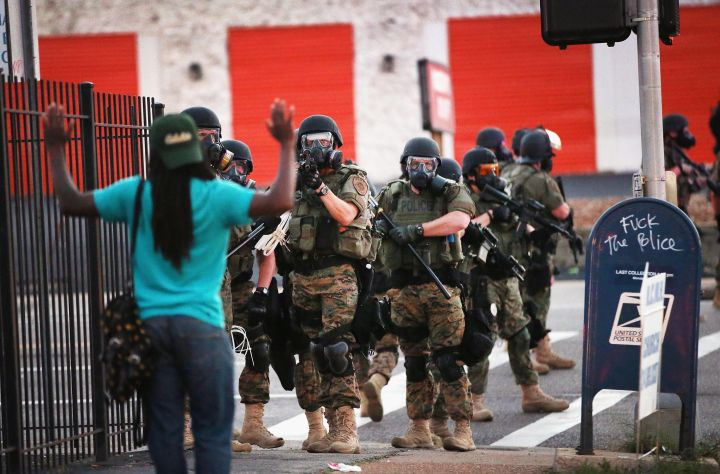 A Look Back At The Protests in Ferguson