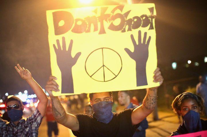 #BlackLivesMatter Protests In Ferguson