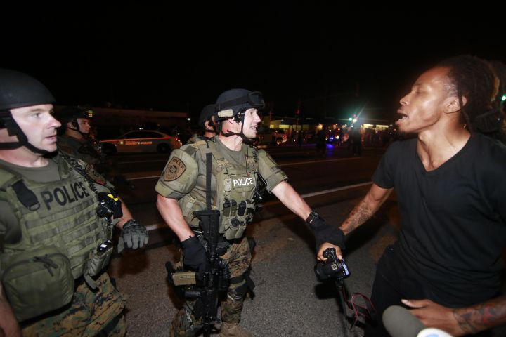 Unrest continues in Ferguson