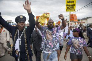 Rally Held in Ferguson Over Police Killing Of Michael Brown