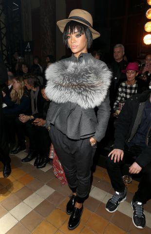 Lanvin : Front Row - Paris Fashion Week Womenswear Fall/Winter 2014-2015