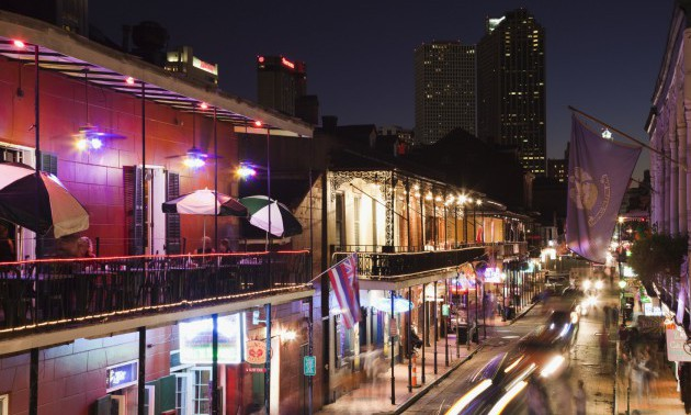 Stroll Down Bourbon Street