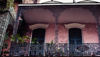 Typical house in New Orleans