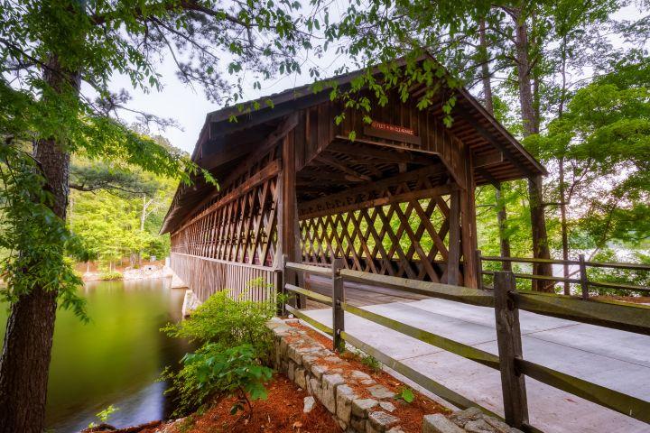 Run Through Atlanta's Stone Mountain Trail
