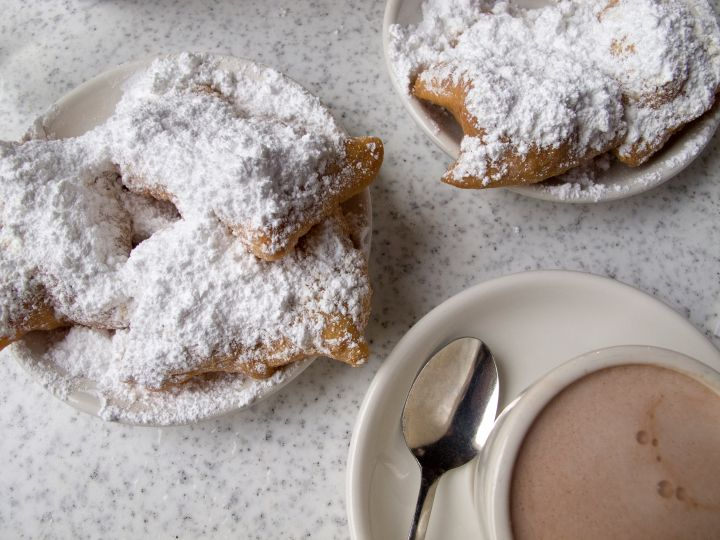 Snack On Cafe du Monde's Famous Beignets In New Orleans