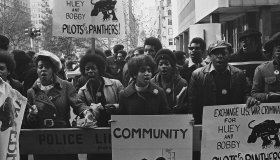 Black Panther Demonstration