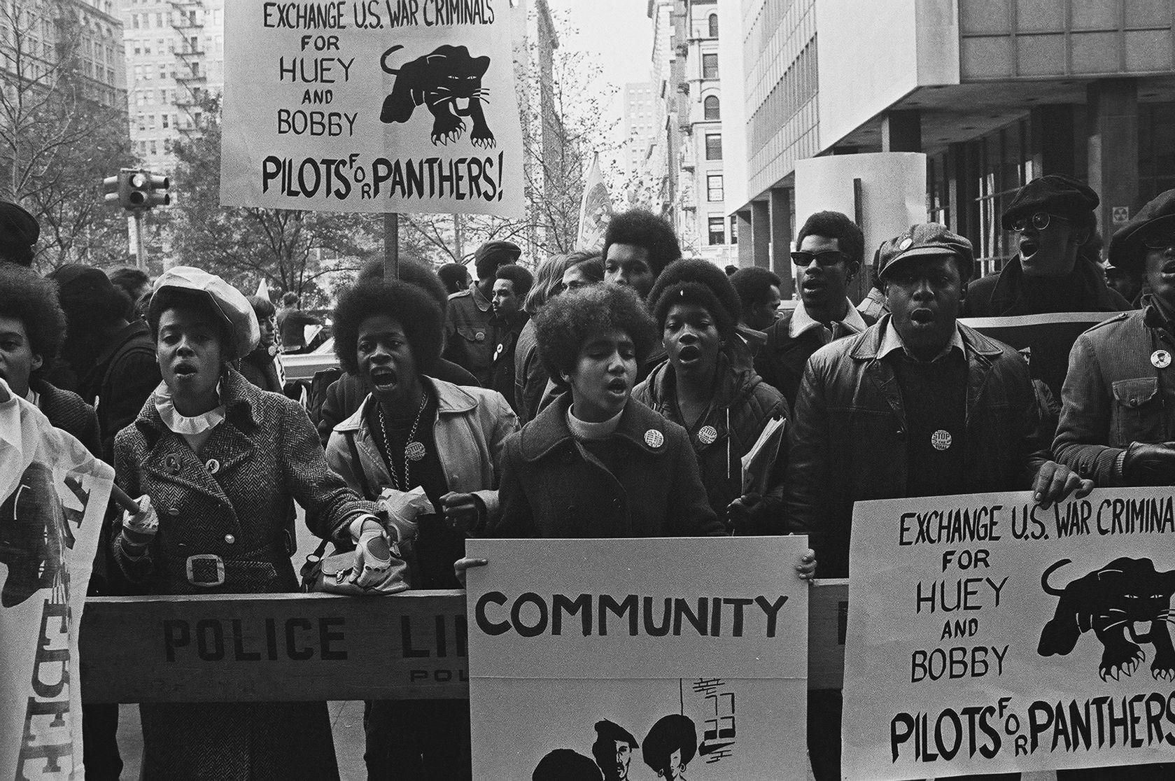 Black Panther Demonstration