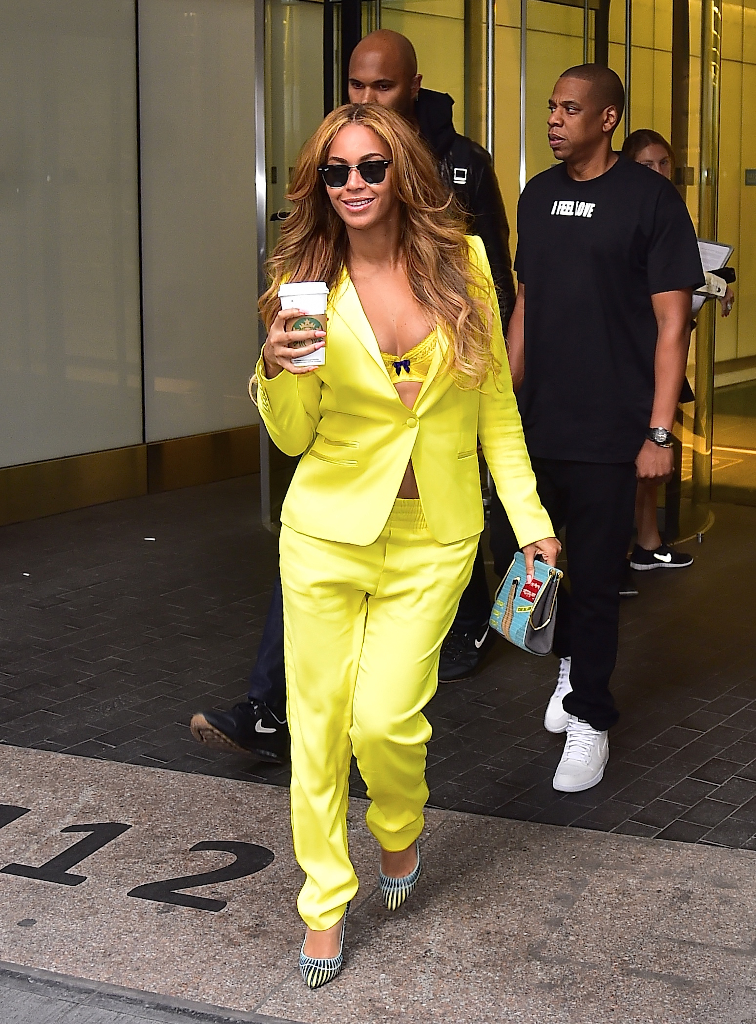 Celebrity Sightings In New York City - May 20, 2015