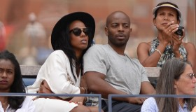 2015 US Open Celebrity Sightings - Day 3